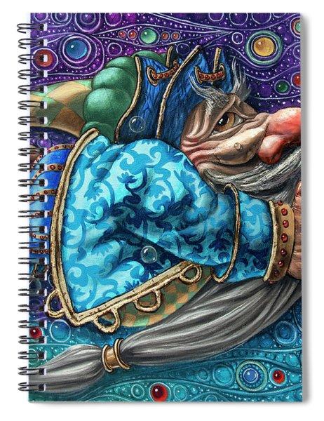 Magic Flight#2 Spiral Notebook