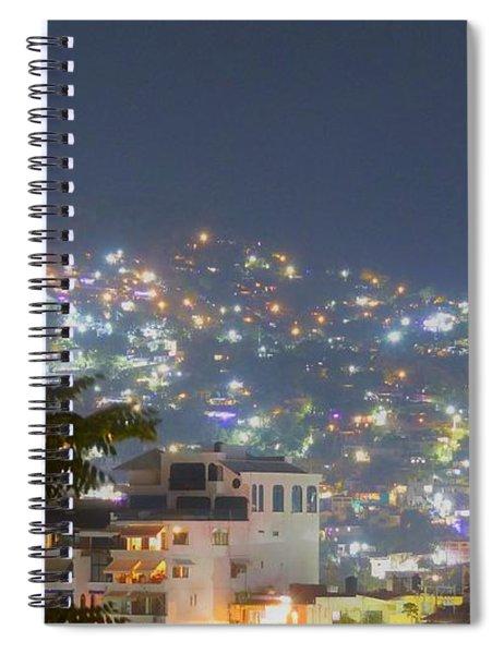 Magic Of Zihuatanejo Bay Spiral Notebook
