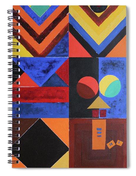 Magical Lines  Spiral Notebook