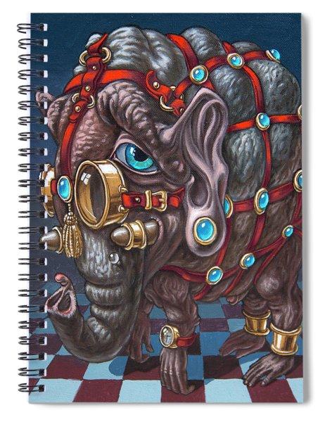 Magical Many-eyed Elephant Spiral Notebook