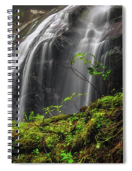 Magical Mystical Mossy Waterfall Spiral Notebook