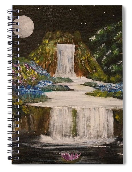 Magical Nights Spiral Notebook