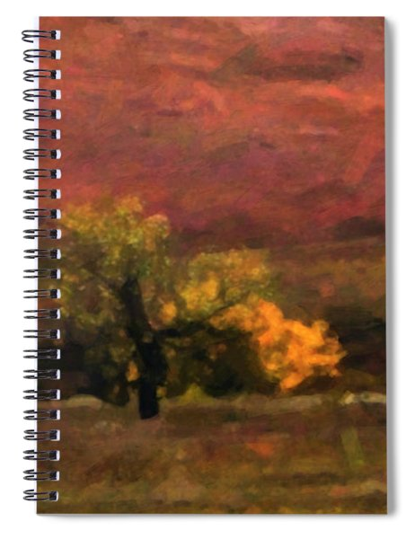 Magnificent Autumn Colors Spiral Notebook
