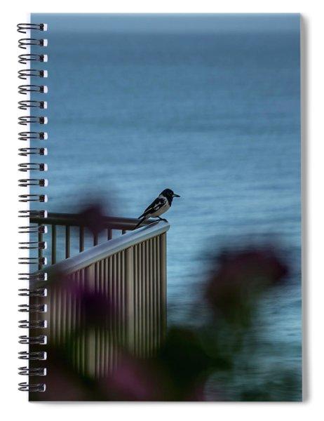Magpie Bird Spiral Notebook