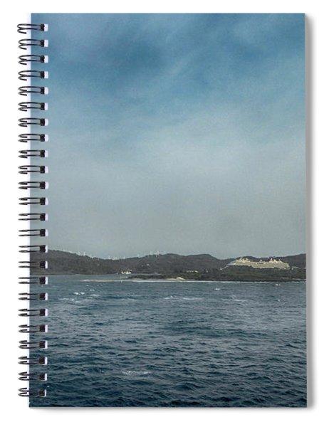 Mahogany Bay Morning Spiral Notebook