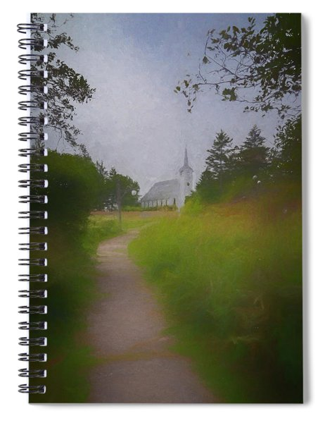 Maine Island Chapel Spiral Notebook