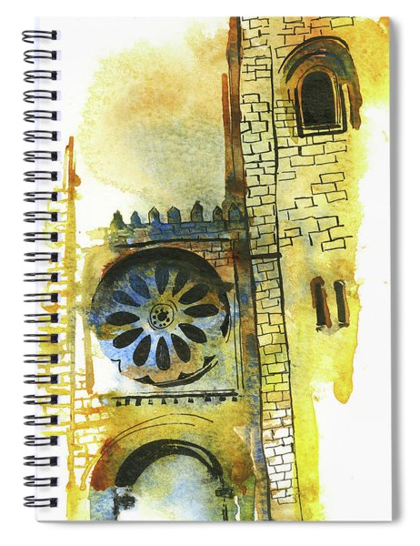Majestic Cathedral Spiral Notebook