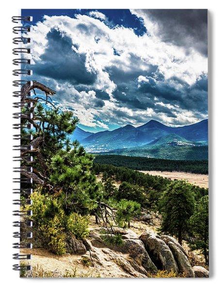 Majestic Clouds Spiral Notebook