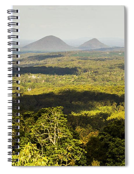Majestic Maleny And Beyond Spiral Notebook