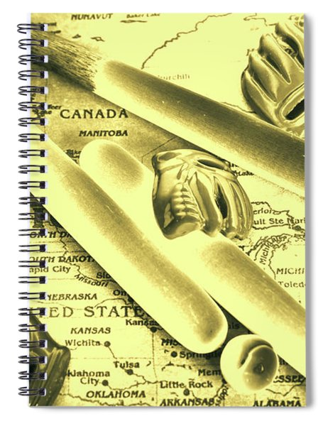 Major League America Spiral Notebook