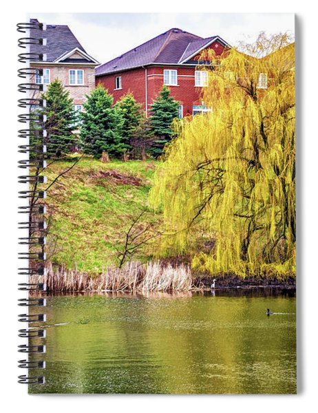 Major Oak Park - Paint Spiral Notebook