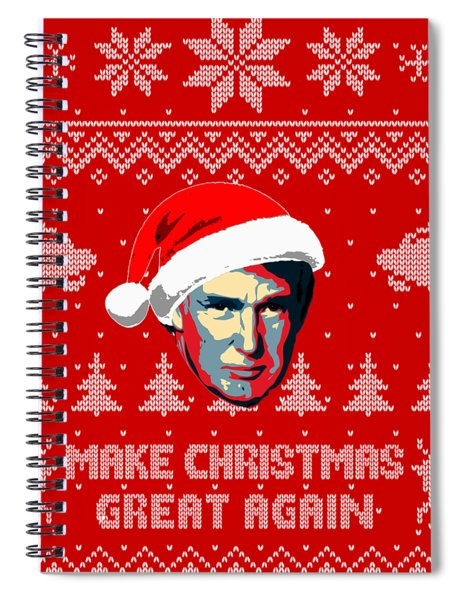 Make Christmas Great Again Spiral Notebook