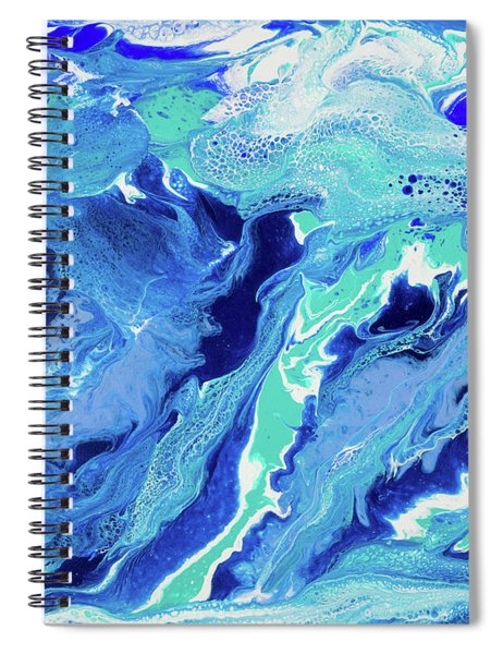 Spiral Notebook featuring the painting Makena by Lisa Smith