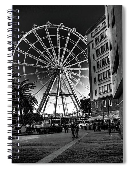 Malaga Ferris Wheel Spiral Notebook
