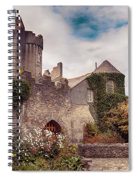 Malahide Castle By Autumn  Spiral Notebook