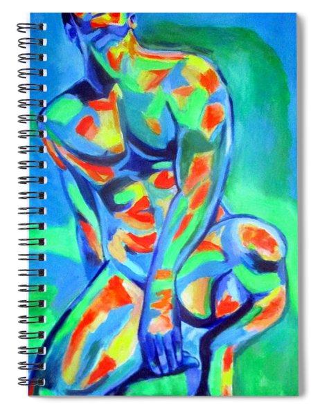Male Distinctive Beauty Spiral Notebook