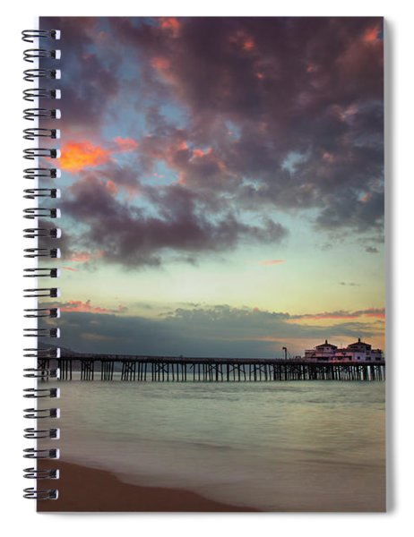 Malibu Pier IIi Spiral Notebook