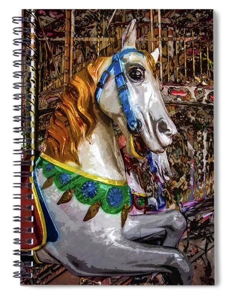 Mall Of Asia Carousel 1 Spiral Notebook