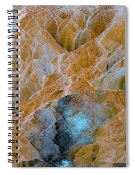 Mammoth Hot Springs Spiral Notebook by Mae Wertz