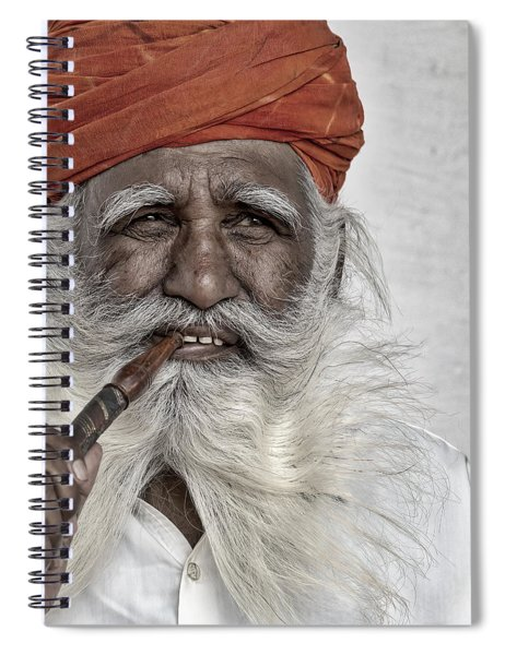Man Of Wisdom Spiral Notebook