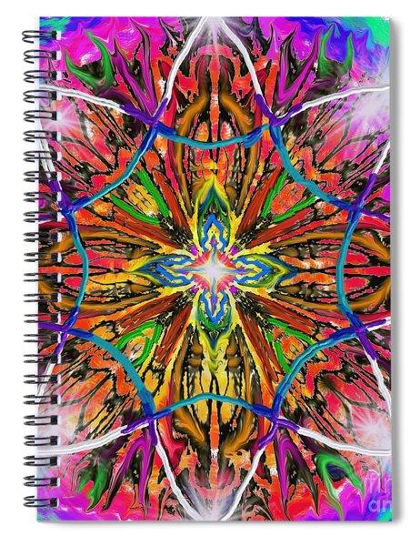 Mandala 12 11 2018 Spiral Notebook