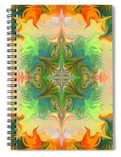 Mandala 12 8 2018 Spiral Notebook