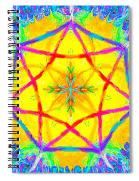 Mandala 12 9 2018 Spiral Notebook