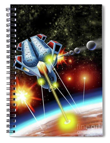 Mangle Atacks Nisip Spiral Notebook