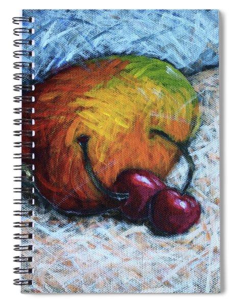 Mango And Cherries Spiral Notebook