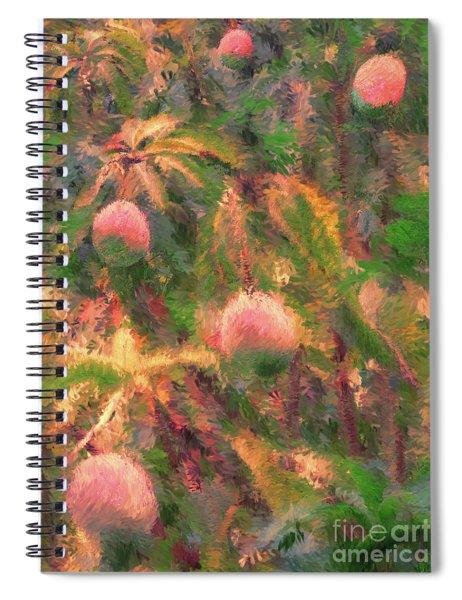 Mango Tree Impression Spiral Notebook