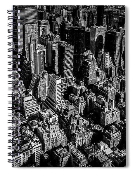 Manhattan Rooftop View Spiral Notebook