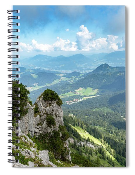 Mannlsteig, Berchtesgadener Land Spiral Notebook