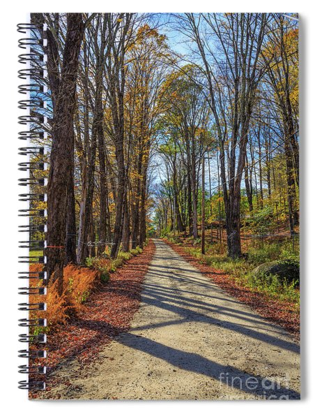Maple Lane Old Fairgrounds Road Nh Spiral Notebook