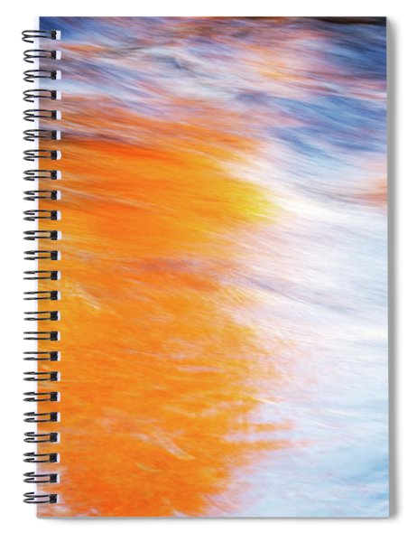 Maple Reflection Fall Spiral Notebook
