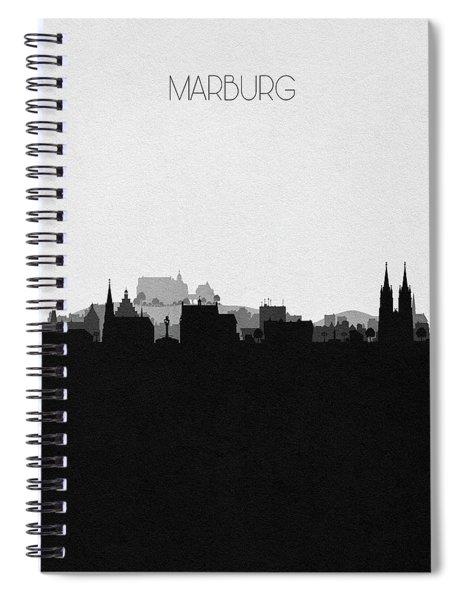 Marburg Cityscape Art Spiral Notebook