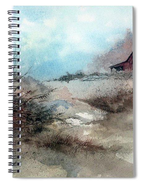 March Fields Spiral Notebook