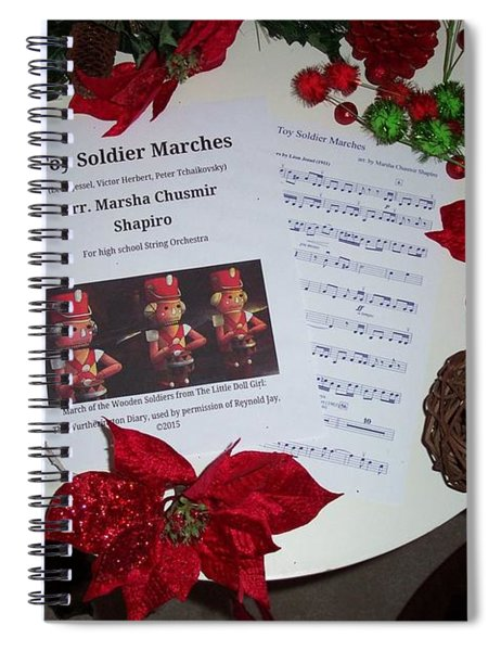 March Of The Toy Soldiers Spiral Notebook