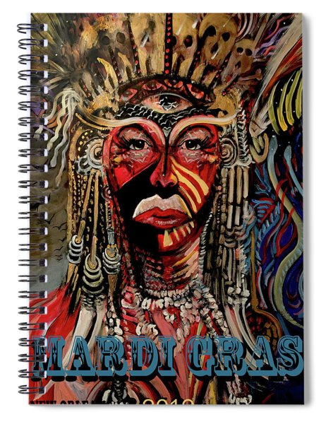Mardi Gras 2019 Spiral Notebook