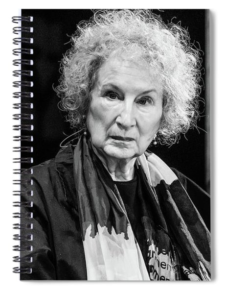 Margaret Atwood At The Hay Festival 2018 Spiral Notebook