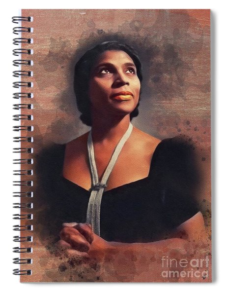 Marian Anderson, Music Legend Spiral Notebook