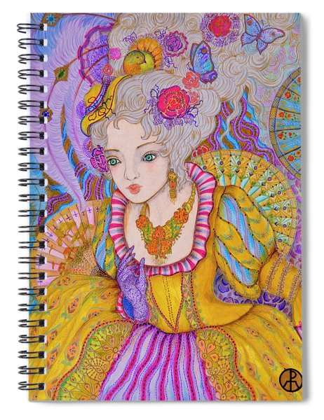 Marie Antinette Spiral Notebook