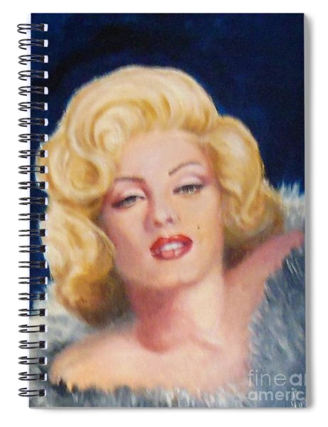 Marilyn Spiral Notebook