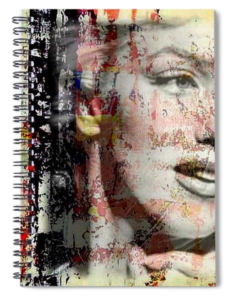 Marilyn Monroe 2 Spiral Notebook