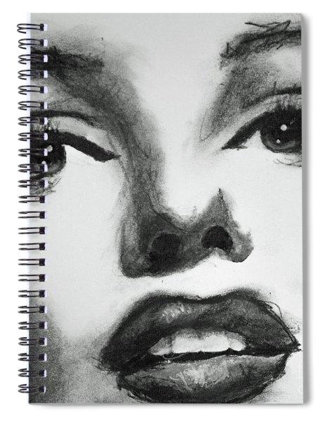 Marilyn Scribble Spiral Notebook