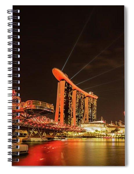 Marina Bay Sands Spiral Notebook