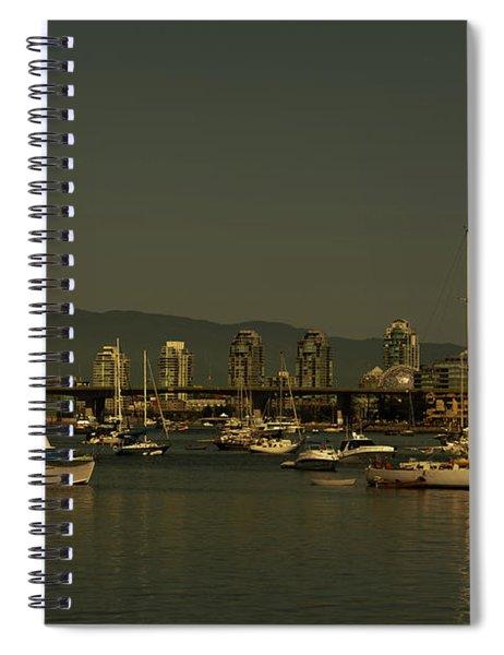 Marina Golden Hours Spiral Notebook