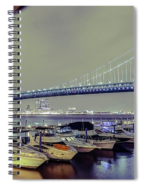 Marina Lights Spiral Notebook