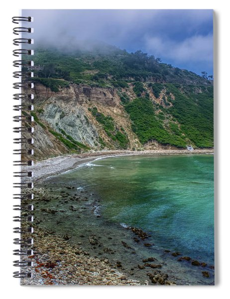 Marine Layer Over Bluff Cove Spiral Notebook