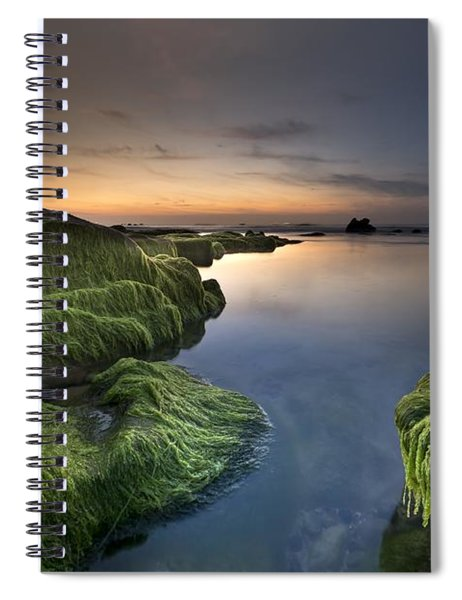 Marine Sunset Spiral Notebook