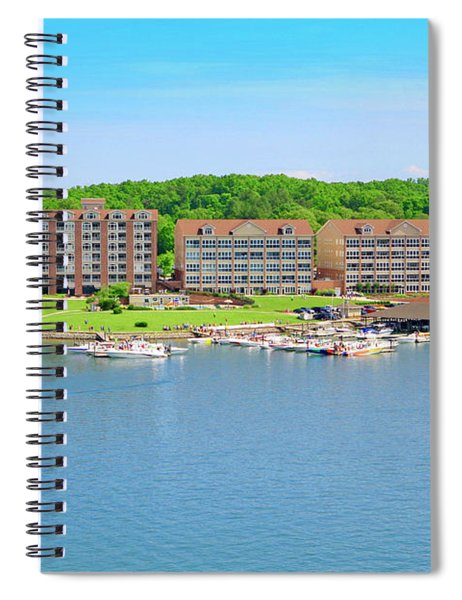 Mariners Landing Poker Run Spiral Notebook